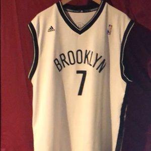 45833735b Adidas Throwback Brooklyn Nets Joe Johnson Jersey.
